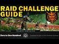 "NEW ""Zero to One Hundred"" Raid Challenge Guide! | Destiny 2: Shadowkeep"