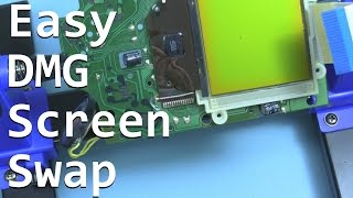 Easy Game Boy DMG LCD Screen Swap  - No longer impossible