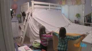 Girl Fort With Polka Dots