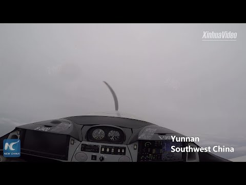 What is it like to fly Chinese-made light-sport aircraft: pilot's view from cockpit