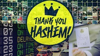 THANK YOU HASHEM | JΟEY NEWCOMB ft. Moshe Storch (Official Music Video) @tyhashem