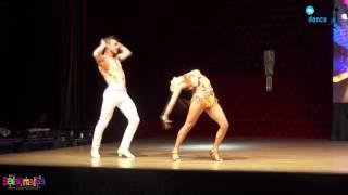 CEM DEMİR & MELİSA SAHRA KATILMIŞ SALSA SHOW | 1.İZMİR DANCE CONGRESS
