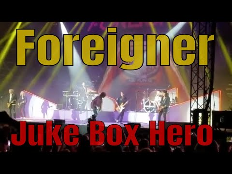 Juke Box Hero ~ Foreigner - Waterfront Concerts, Bangor Maine 2018