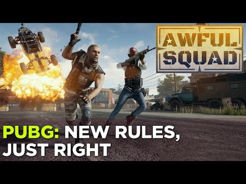 AWFUL SQUAD: New Rules, Just Right w/ Griffin, Plante, Simone and Austin (& more!)