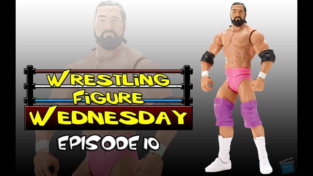 Damien Sandow-BASIC SERIES 28-WWE Mattel Wrestling Figure