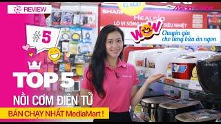 Top 5 nồi cơm điện tử bán chạy nhất tại MediaMart