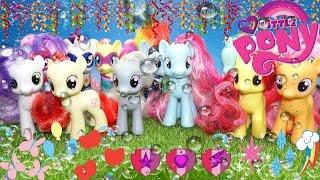 My little pony Китайские пони обзор на 16 пони с Алиэкспресс первый взгляд #mlp
