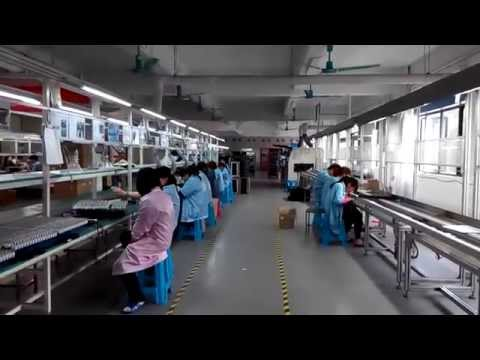 About FOT Telecom: Manufacturing center (Video 1/2)