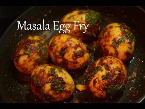Masala Egg Fry | How to make masala egg fry | Maharashtrian Recipes