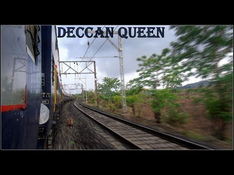 DECCAN QUEEN : Highlights Of MUMBAI - PUNE Train Journey in Monsoon | INDIAN  RAILWAYS