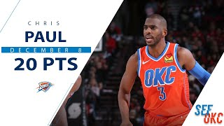 Chris Paul's Full Highlights: 20 PTS, 3 STL vs Blazers | 2019-20 NBA Season - 12.8.19