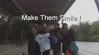 Erasmus Athens Makes The Homeless People Smile