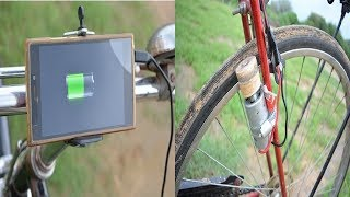 How to Make Simple Dynamo Generator For Bicycle/E-Bike | Free Energy Using DC Motor Mobile Charger