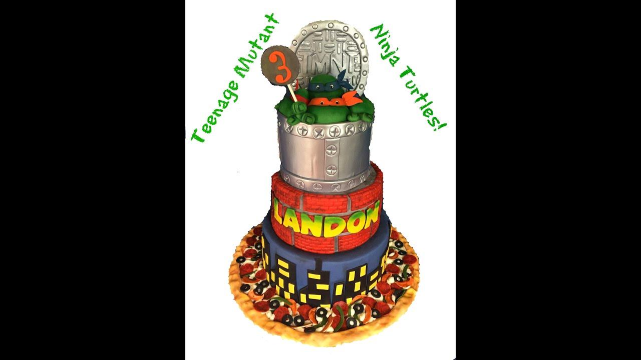 Images Ninja Turtles Cakes