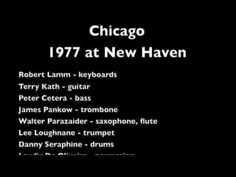 CHICAGO - 1977 New Haven Coliseum
