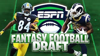 Fantasy Football Auction Draft   ESPN League   Championship Team Out Here