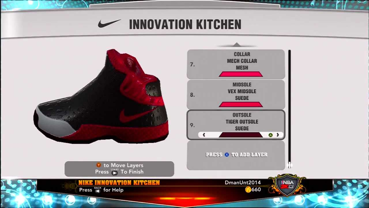 NBA 2K13 MyCareer Endorsement: Signature Shoe, Nike Shoe Commercial, Shoe  Billboard - YouTube