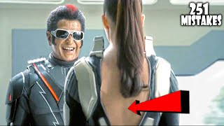 "(251 Mistakes) In 2.0 - Plenty Mistakes In ""2.0"" Full Hindi Movie - Rajinikanth & Akshay Kumar"