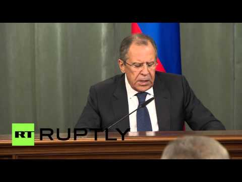 Russia: Lavrov wants groups that killed Russian airmen on terrorist organisation list