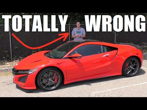A Quick Response to Doug DeMuro... The New NSX is Definitely a FLOP!