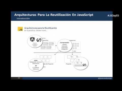 Arquitecturas para la reutilización en JavaScript