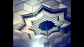 видео Потолок из фанеры
