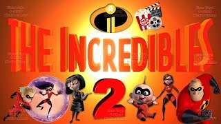 THE INCREDIBLES 2 FULL MOVIE LEGO GAME ENGLISH DISNEY PIXAR MOVIE GAMES