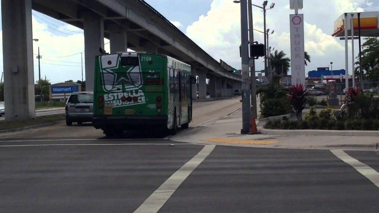 miami-dade transit metrobus 2002 nabi 040.17 2167 on route