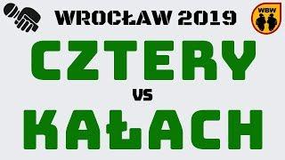 CZTERY  KAŁACH WBW2K19 Wrocław (1/4) Freestyle Battle