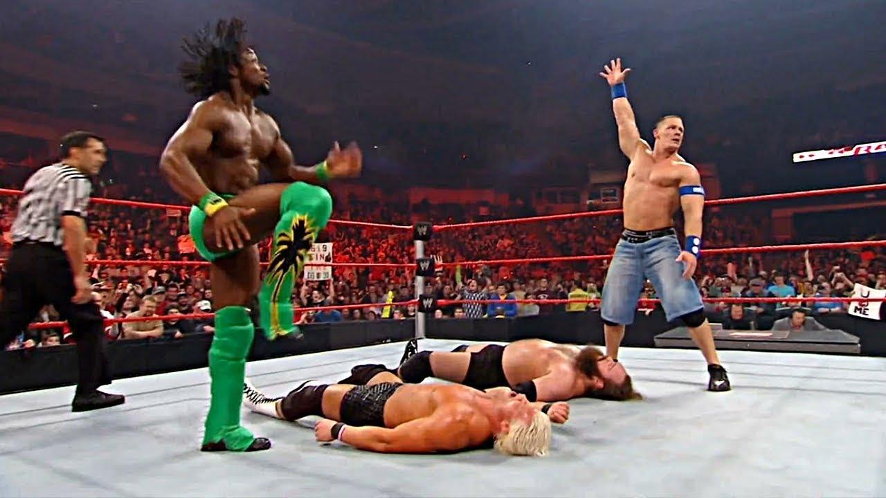 มวยปล้ำพากย์ไทย Team Cena Vs Team Kane - RAW 2009
