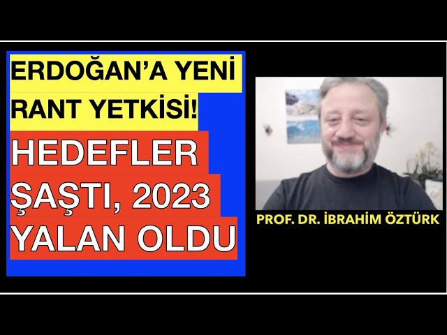 ÇÖKÜŞÜN TARİHİ 2023... PROF. DR. İBRAHİM ÖZTÜRK