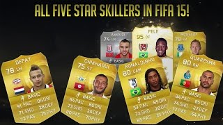 All 5 star skillers in Fifa 15! Thumbnail