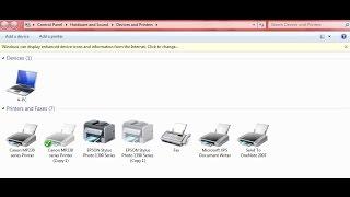 Cara Reset Printer Epson SP 1390 Solusi Error Comuniation