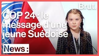 Le discours de Greta Thunberg à la COP 24