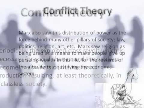 karl marx conflict theory essays