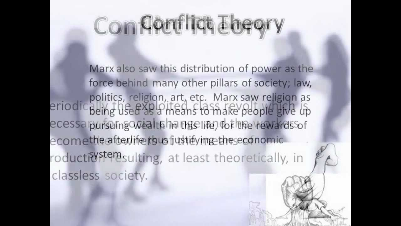 conflict theory marx and health inequality 3 conflict perspective carl marx, an 18th century sociologist, was one of the original theorists to develop a conflict perspective on how society functions following marx was.
