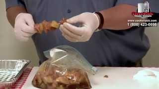 Charbroiler- Cookshack's Grilled Hawaiian Kabobs