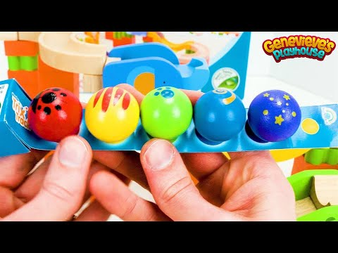 Let's Build An Educational Wooden Marble Maze For Kids!