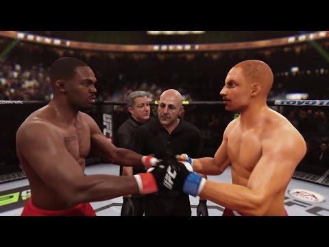 EA Sports UFC Career Mode - Jon Jones Cheese!