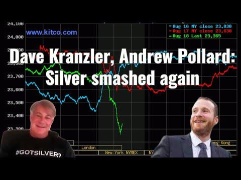 Dave Kranzler, Andrew Pollard: Silver smashed again