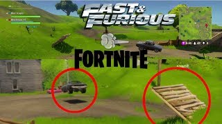 Fortnite & Furious (Driving a car in fortnite/glitch) [*Fortnite Season 7 working mars 2019*]