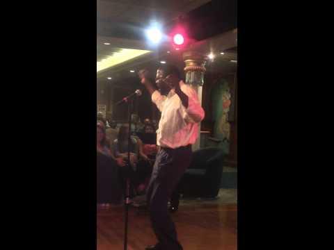 Isaiah Glover Karaoke Royal Caribbean