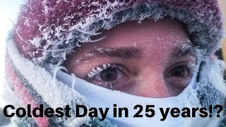 What we did in -55 weather in Minnesota - 1/30/19