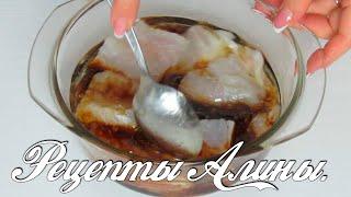 Рыба в медово - соевом соусе . Рецепты Алины.