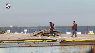 Operativa portuaria disminuida por la bajante del río Uruguay