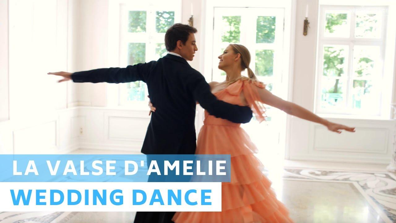 La Valse D'Amelie | Amelie Soundtrack  | Wedding Dance Choreography | Viennese Waltz | First Dance