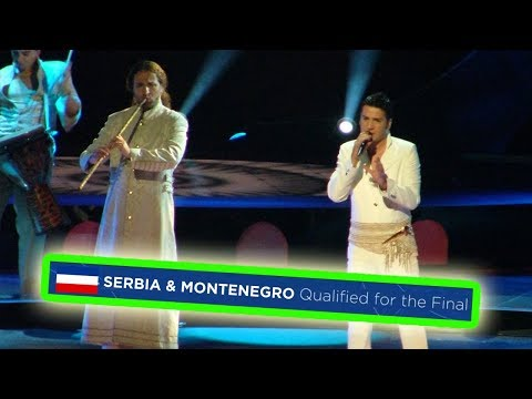 every time SERBIA & MONTENEGRO qualified for the eurovision final