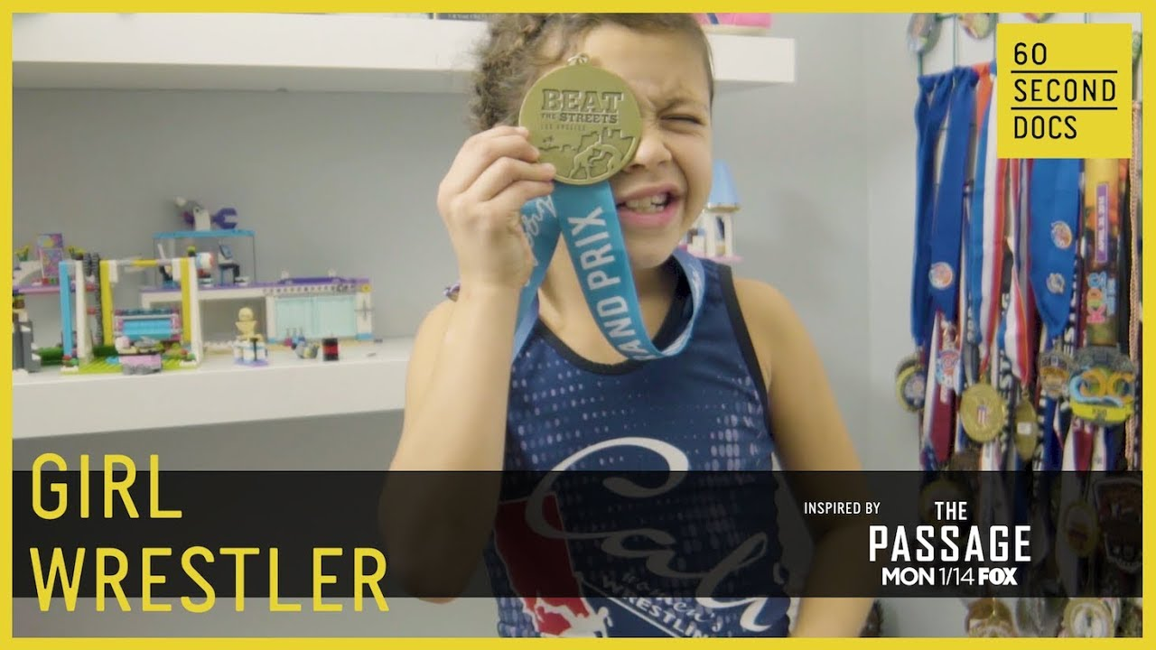 She's A 9-Year-Old Wrestling Champion | FOX The Passage
