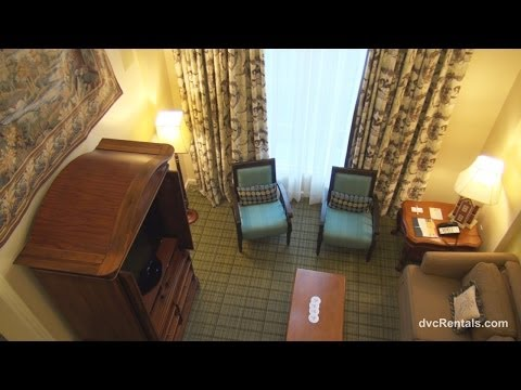 Saratoga Springs Resort & Spa ROOM TOURS - GRAND VILLA - Walt Disney World Florida