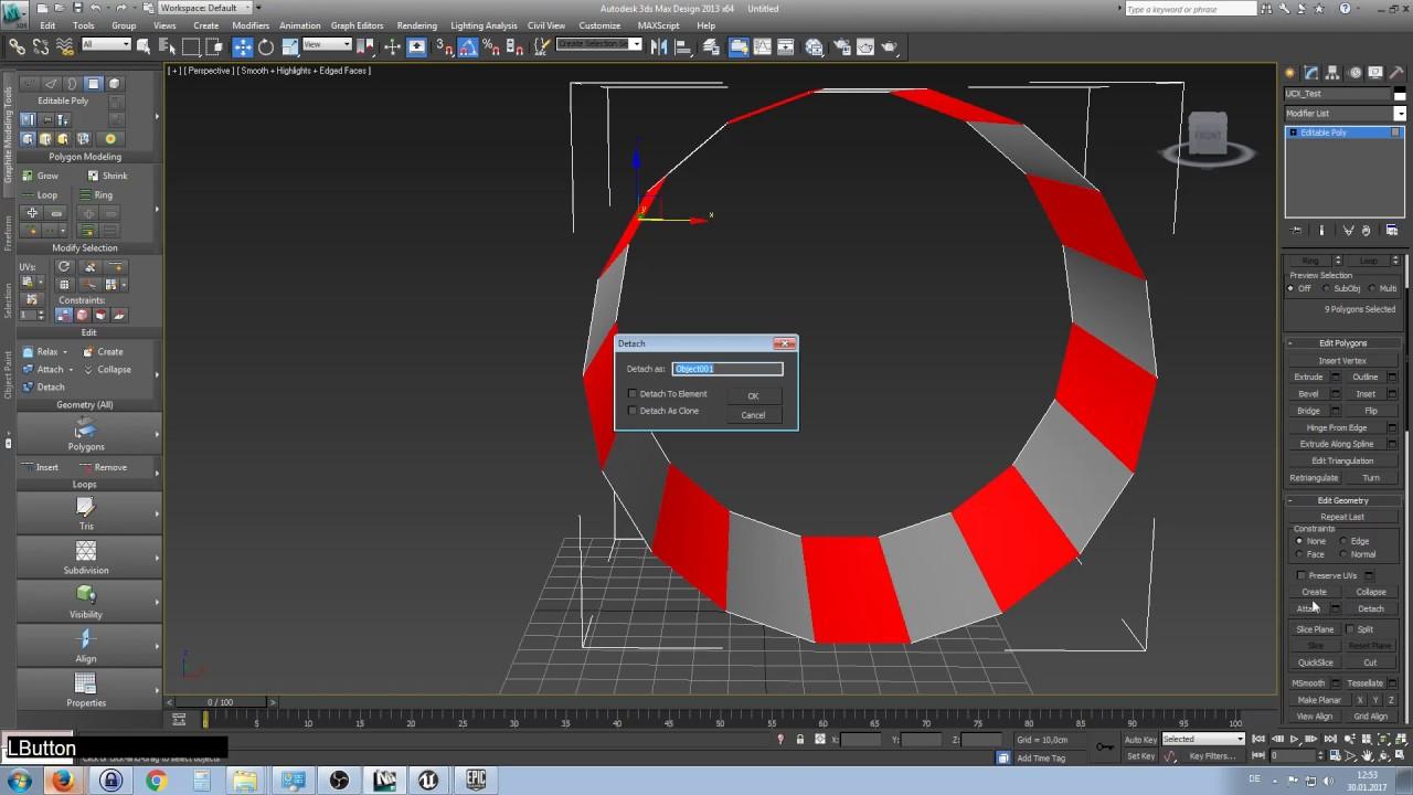 3DsMax Collision Setup | UE4